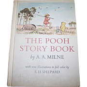 """Hard Cover Children's Book """" The POOH Story Book """" A.A. Milne"""