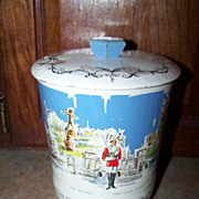 Vintage Novelty Souvenir Advertising Tin Sites Of  London