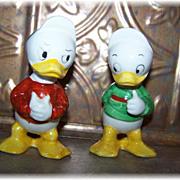 Donald Duck's Nephews Louie & Huey Salt & Pepper Shakers