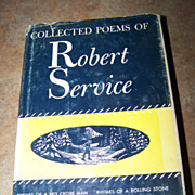 "H.C. Book "" Collected Poems of Robert Service"" C. 1940"
