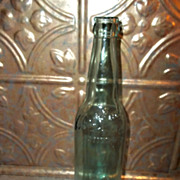 Vintage Embossed  Advertising West End Glass Beer Bottle
