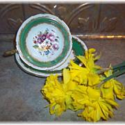 Pretty Vintage Mixed Flora Tea Cup & Saucer Set Aynsley England