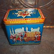 Advertising Tin   Gateaux D'Epice De Nuremberg Haeberlein - Metzger