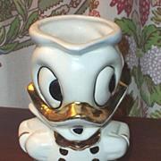 American Bisque Walt Disney Pottery Donald Duck Pottery Pitcher