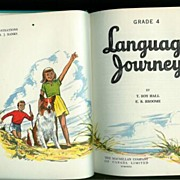 Language Journeys Grade 4 Text Book MacMillan 1952