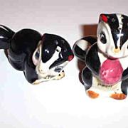 Stinky & Pfui Skunk Salt & Pepper Shakers