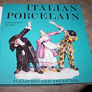Italian Porcelain Hard Covered Book Francessco Stazzi