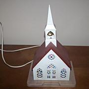 Vintage Plastic Church Lamp / Light