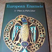 Book European Enamels 71 Plates in Full Color