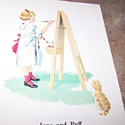 Soft Cover School Reader Fun Wherever We Are Dick Jane Spot Puff