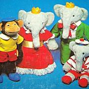 H.C. Children's  Book Babar's Mystery C. 1978