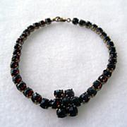 Fabulous Bohemian Garnet Bracelet