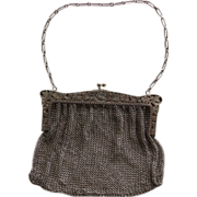 Early 20th Century Sterling Mesh Purse/Handbag