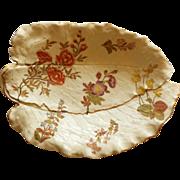Large Royal Worcester Serving Platter, Dated 1888