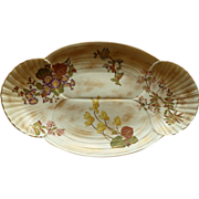 Royal Worcester Platter With Shell Design Dated 1888