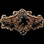 Victorian 14 Karat & Garnet Brooch/Pin