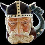 """Royal Doulton Toby Mug The Viking   3 1/2"""""""