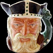 """Royal Doulton Toby Mug The Viking   2 1/16"""""""
