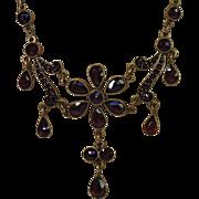 Antique Garnet Necklace