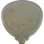 SALE Celluloid Hand Mirror , ...... Aesthetic Movement , C. 1880