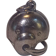 Vintage Sterling Football Helmet Charm By BEAU