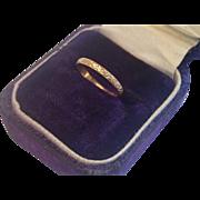 Vintage Baby Ring, 10K Yellow Gold