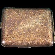 Vintage Sterling Silver Cigarette Case