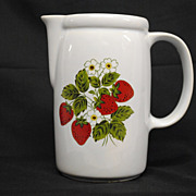 SALE McCoy Strawberry Country Pitcher