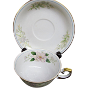 """Occupied Japan Grace China """"Rochelle"""" Cup & Saucer"""
