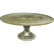 SOLD Harp Cake Stand by Jeannette Glass Company 1954 - 1957