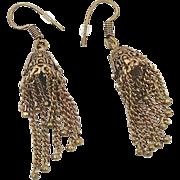 """Boho Ethic Dangle Earrings - Vintage Gypsy 2 1/2"""" Long - InVintageHeaven"""