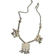 Vintage Kuchi Gypsy Bells Necklace - Banjara Tribal Afghan - InVintageHeaven