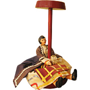Vintage Doll's Hat Stand - Full Figure Ethnic Doll In Costume