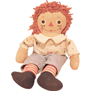 "Georgene Novelties Raggedy Andy - 16"" W/ Tag - Johnny Gruelle"