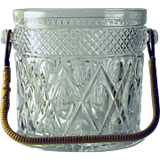 SOLD Imperial Glass Rare Cape Cod Ice Bucket / Wine Cooler c. 1932-1984