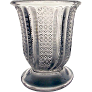 SOLD EAPG McKee Glass Feather a.k.a. Doric Spoon Holder, c, 1890's