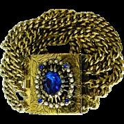 Chunky Wide Vintage Bracelet to Catch Everyone's Eye