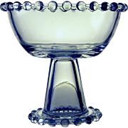 Imperial Glass Candlewick Footed Compote, c. 1936-1984