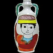 Nino Parrucca Handmade Italian Pottery Jug Signed & Numbered