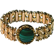 Vintage Decorately Carved Expandable Women's Bracelet c. Early 1900's
