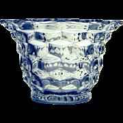 Fostoria American Glass Mayonnaise Bowl