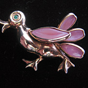 REDUCED Trifari Petalettes Alfred Philippe Designed- Duck- Pin-Brooch