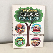 Vintage 1961 Betty Crocker's Outdoor Cook Book Illustrated