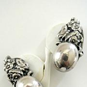 Vintage Designer Signed Napier  Earrings
