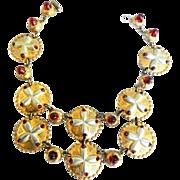 SALE Magnificent Museum Quality Hattie Carnegie Necklace