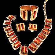 SALE Fabulous Matisse Chile Necklace Bracelet Earrings