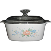 SOLD Corning Ware 1 1/2 Quart Covered Saucepan in the Symphony Pattern