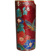 Vintage Cloisonne Lighter Cover New Old Stock