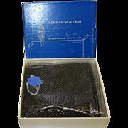 SALE Vintage Whiting and Davis Mesh-Mates Beadite Wallet MINT in Original Box