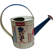 Vintage Holly Hobbie Tin Watering Can by Chein Playthings c. 1974
